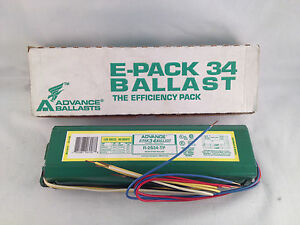 New Advance V-2S34-TP E-PAK Ballast F40T12 FB40T12//ES