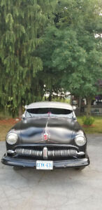 1949 Meteor Business Man Coupe, a rare classic car !