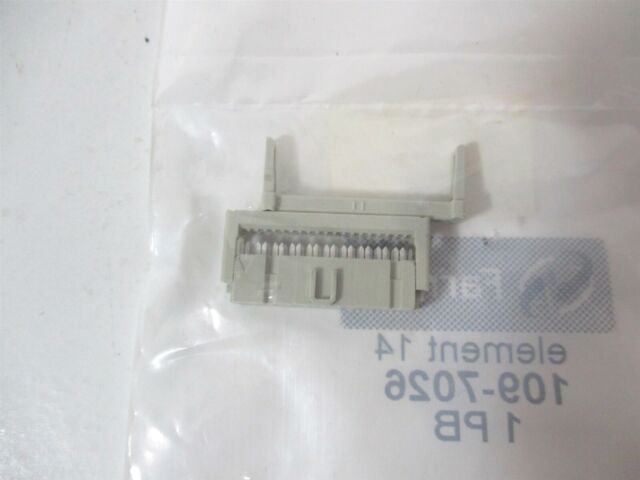 Header 2.54 mm Through Hole Pack of 20 MTSW-113-09-G-D-480 2 Rows, MTSW Series 26 Contacts Board-To-Board Connector