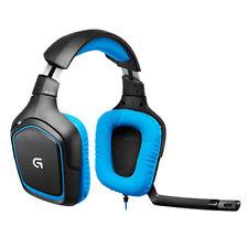 Logitech 981-000537 g430 7.1 Surround Sound Over-Ear Cuffie Gaming Nero/Blu