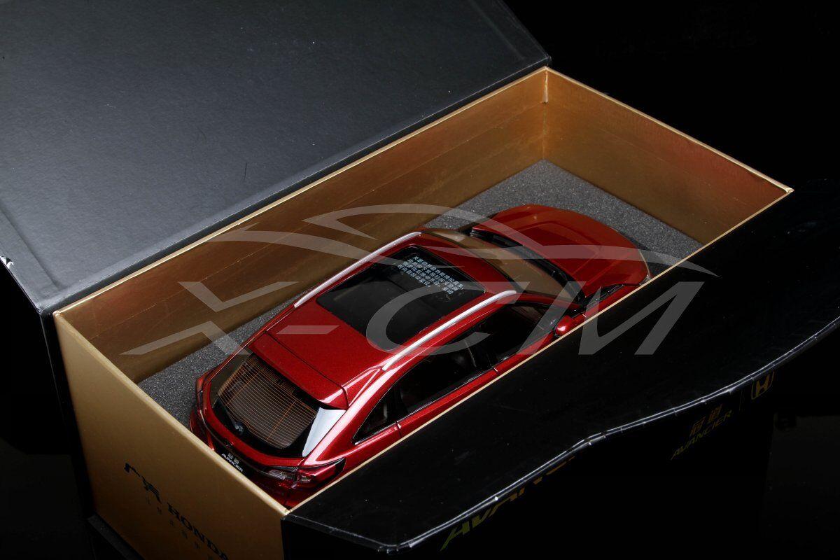 Diecast Car Model Honda All New Avancier 1 18 (Red) + GIFT