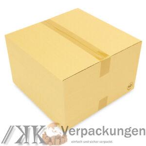 weiß 20 Faltkartons 200x200x100 mm Einwellig Versandkartons Karton B-Welle