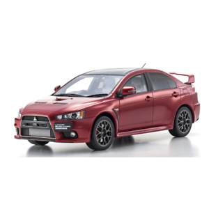 Mitsubishi Lancer Evolution X Final Edition Red Kyosho KSR18019R