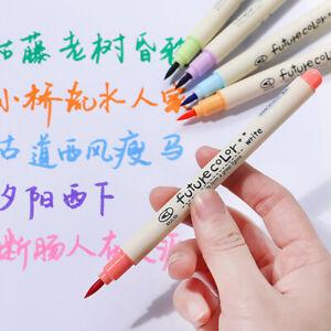Multi-color-Sketch-Marker-Brush-Pen-For-Drawing-Manga-Art-Supplies-Marker-Random