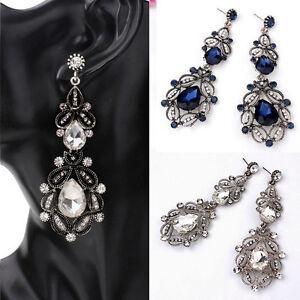 Fashion-Flower-Hollow-Earrings-Big-Long-Crystal-Drop-Earrings-Dangle-Earrings-Z