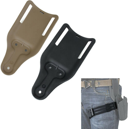 Tactical Airsoft Belt Holster Clip Mount Drop Adapter Short Version Safariland