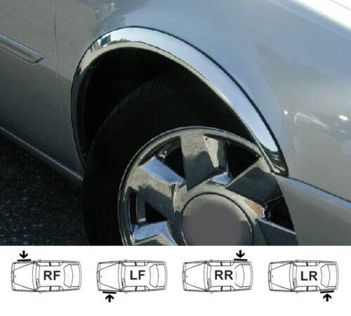 07-09 HYUNDAI COUPE new wing fender wheel arch trim moulding set 4pcs L/&R chrome