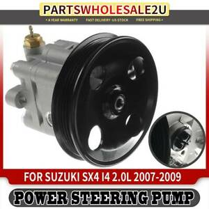 A-Premium Power Steering Pump with Pulley Replacement for Suzuki SX4 2007-2009