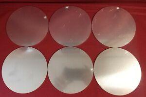 """.125 5052 Aluminum See Pictures 6 Aluminum 7/"""" Diameter Circle Discs 11 ga 1//8/"""""""