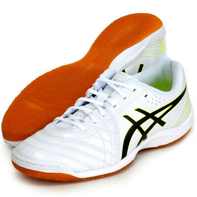 Asics JAPAN CALCETTO WD 8 Indoor Soccer Football Futsal Shoes 1113A011 White