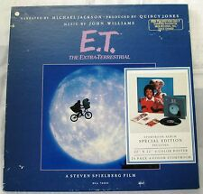 JOHN WILLIAMS MICHAEL JACKSON QUINCY JONES E.T. LP PROMO BOX SET RARE