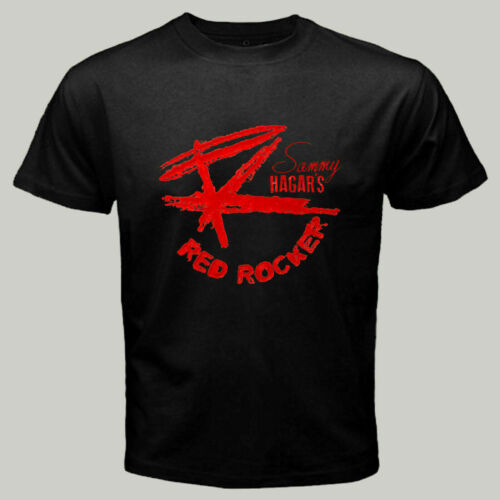 Sammy Hagar RED ROCKER Logo Men/'s T shirt Size S-3XL