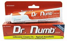 1 TUBE Dr Numb Topical Numbing Anesthetic Skin Cream for Tattoo Pain Genuine