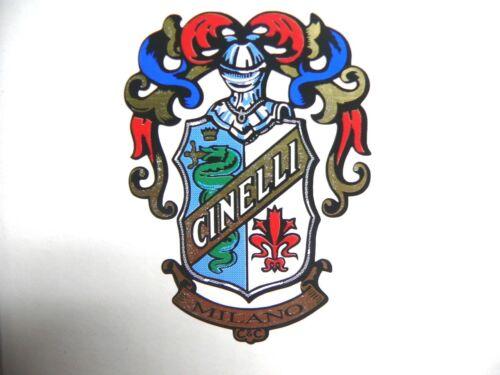 58x41mm vintage 1 sticker head badge for racing bikes CINELLI