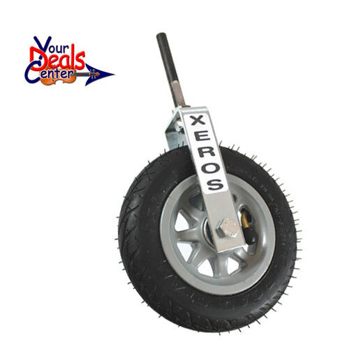 "Genuine Xeros Upright  Bass Transport Wheel 3//8/"" Shaft"