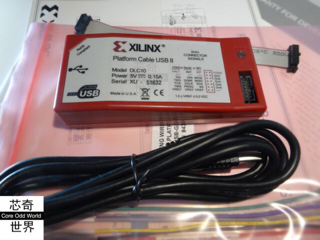 NEW DRIVERS: XILINX PLATFORM CABLE USB II