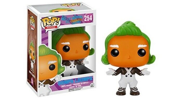 Funko Pop Willy Willy Willy Wonka Oompa Loompa 3cdfd0