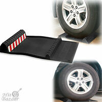 Parking Right Mat Tire Stop Black Tape Garage Safety Car Protection Floor Pad