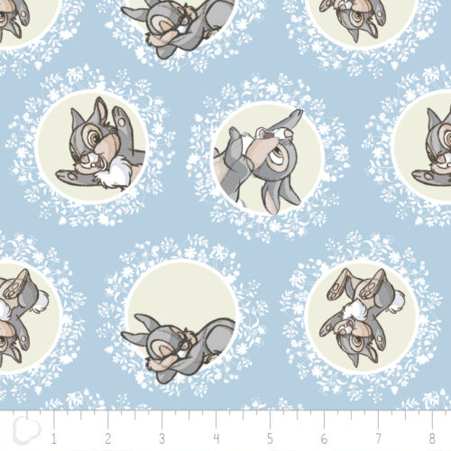 Disney Bambi Thumper in Blue Camelot 100/% cotton fabric by the yard