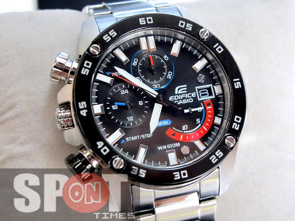d0d84d0020f3 Casio Edifice Chronograph Stainless Steel Men s Watch EFR-558DB-1AV for  sale online