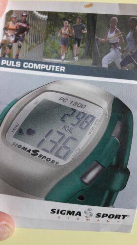 Sigma Sport Pulse Uhr mit Brustgurt und Adapter