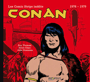 Conan-Les-Comics-Strips-de-1978-a-1979-Neofelis-En-Francais-NEUF