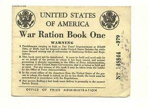 ** USA, era razione Book One, Two, Three & Four-tessere annonarie di guerra USA-  mostra il titolo originale - Italia - ** USA, era razione Book One, Two, Three & Four-tessere annonarie di guerra USA-  mostra il titolo originale - Italia