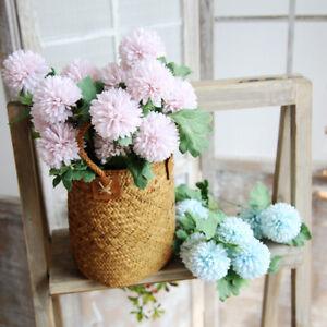 Kunstseide Gefalschte Blumen Lowenzahn Blumenmuster Hochzeitsstrauss