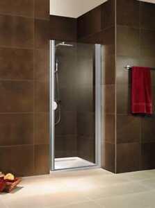 Details zu Schulte ExpressPlus Sunny Drehtür in Nische 900 mm alunatur  Dusche