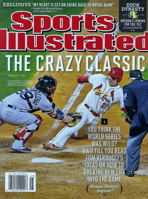 NEW! SPORTS ILLUSTRATED BOSTON RED SOX CRAZY CLASSIC WORLD SERIES 2013 No Label