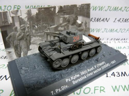 PZ28U Tank Military 1//72 Panzer N° 28 Pz Kpfw 38 T Tnhp 7 Pz Div USSR 1941