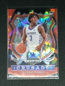 2020 Panini Prizm Draft Picks TYRESE MAXEY RC #94 RED ICE 76ers ROOKIE CARD🔥