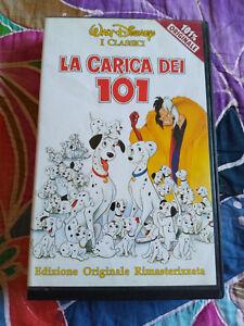 VHS-La-carica-dei-101-Walt-Disney-1981