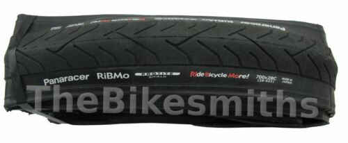 2 PAK Panaracer RiBMo PT 700 x 28 FOLDING Bike Tire Hybrid Road Puncture Stop
