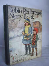 Robin Redbreast Story Book - Colour Plt Mabel Lucie Attwell HB