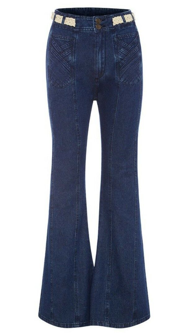 NWT SPELL GYPSY COLLECTIVE DESIGNS BOULEVARD JEANS XS