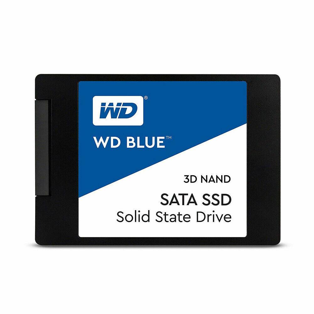 WD Blue 500GB 3D NAND SSD 2.5