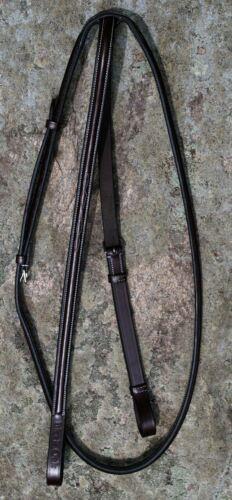 KL Select Black Oak Raised Fancy Stitched Standing Martingale