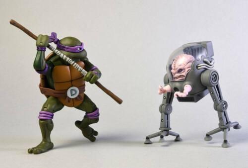 TMNT DONATELLO vs KRANG in BUBBLE WALKER 2-Pack 7″ TEENAGE MUTANT NINJA TURTLE