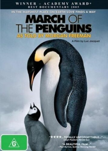 1 of 1 - March Of The Penguins-DVD LIKE NEW CONDITION FREE POSTAGE AUSTRALIA REGION 4