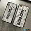 Custom-Kenzo-Supreme-Chrome-Heart-Marble-Leather-iPhone-X-Xs-Max-7-8-Plus-Case