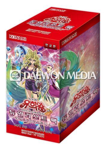 "Legend Duelist 4/"" Booster box 30Packs Yu-Gi-Oh Card /""Duelist Pack // Korean"