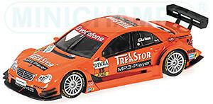 Mercedes-C-Class-DTM-2007-D-La-Rose-15-equipe-Moustique-MSP-1-43-Minichamps