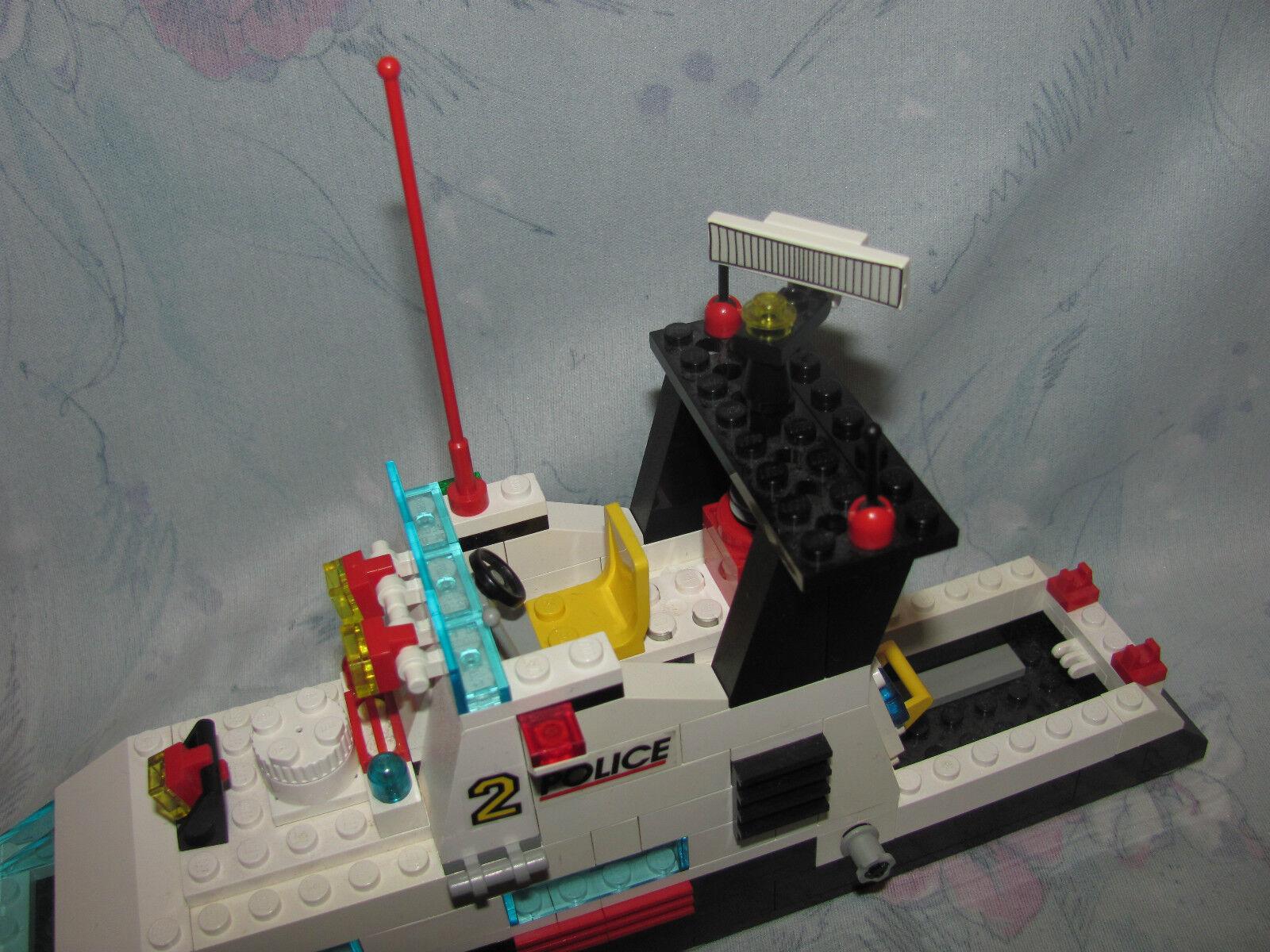Lego 6483 6483 6483 Coastal Patrol Boats - All Figures - Not Complete - 1994 Boat Set 31e581