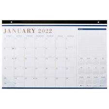 2022 Black Monthly Desk Calendar