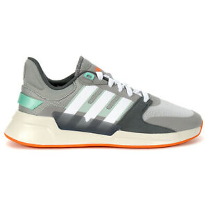 Adidas Men's Essentials Run 90s Dash Grey/Grey Six/Dove Grey Casual Running S...
