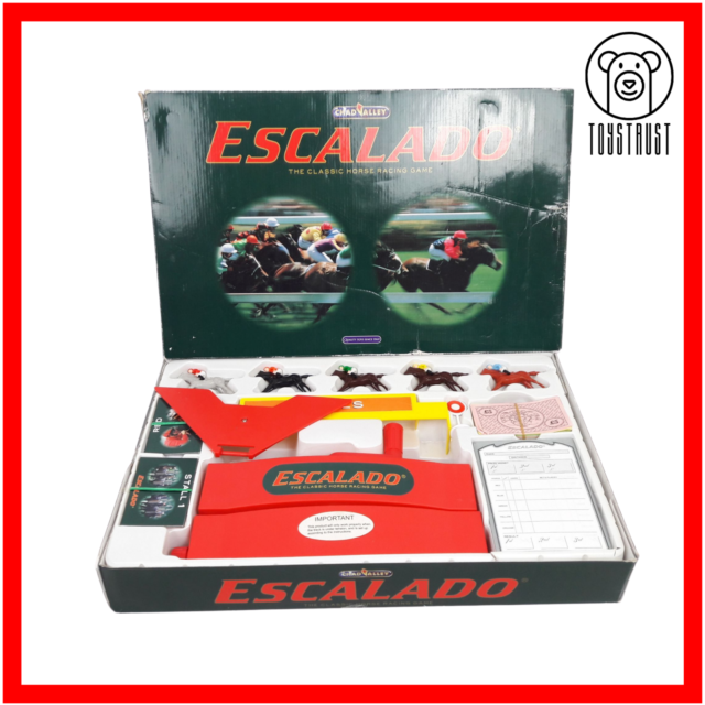 Escalado Horse Racing Game Classic Family Fun Vintage Age 8+ by Chad Valley