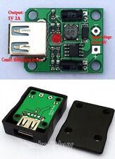 1Set DC-DC 4.5-20V 12V step down to 5V 2A USB solar panel charging controll YA56