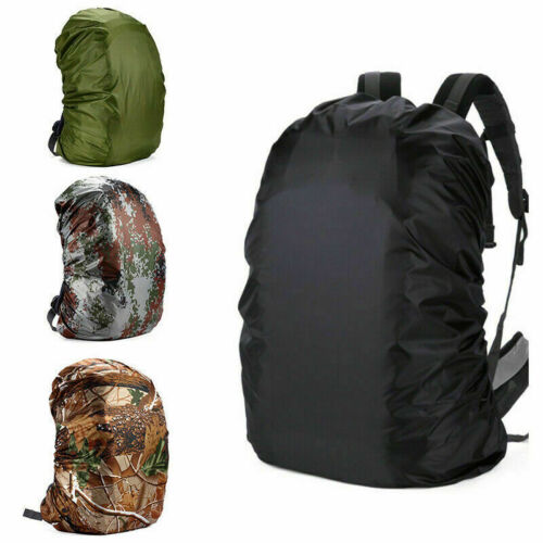 US Waterproof Dust Rain Cover Backpack Outdoor Portable Camping Sports Bag Coat