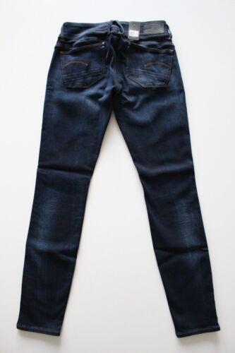 W30,31,32 L30 G-Star Lynn Mid Skynny WMN Slander Superstretch Jeans Blau